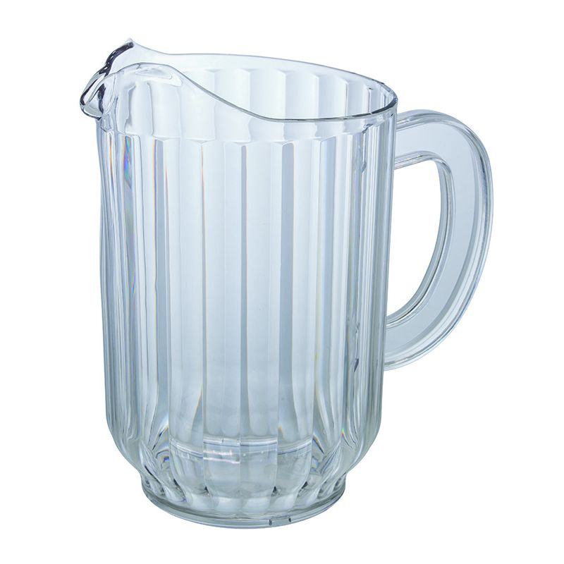48oz PC Water Pitcher, Clear